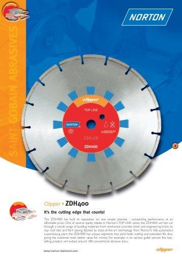 Clipper ZDH400 - Norton Construction Products