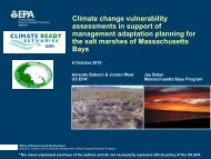 Climate change vulnerability assessments in support of ... - rargom
