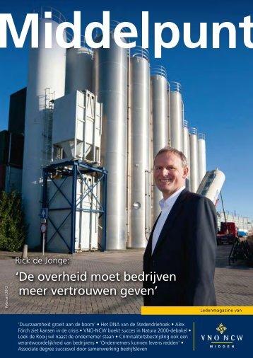 nummer 1, februari 2012 - VNO-NCW Midden