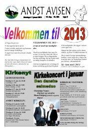 Andst Avisen uge 2 2013