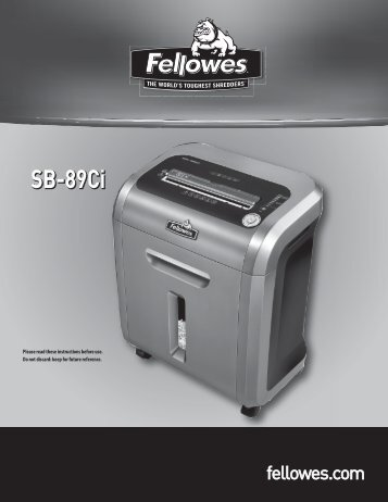 Manuals and downloads fellowes®.