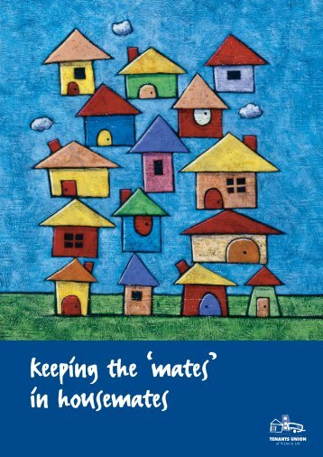 keeping the mates in housemates A4 brochure 5 ... - Community Law