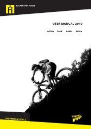 USER MANUAL 2010 - Magura