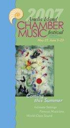 the 2007 Festival Brochure (.pdf format) - Amelia Island Chamber ...