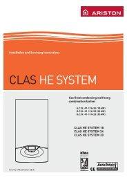 Servicing Instructions - Heat & Plumb