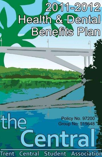 2011-2012 Health & Dental Benefits Plan - Trent Central Student ...
