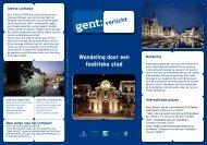 Download hier de wandeling. - Visit Gent