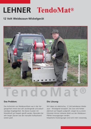 Tendomat-deutsch.qxd (Page 1) - Lehner Agrar GmbH