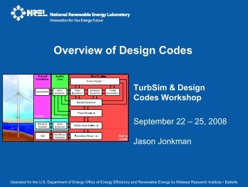 Overview of Design Codes - NREL