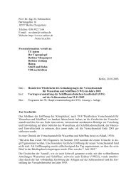 '100 Jahre VWS Berlin' - Michael Schmiechen, Berlin: Homepage - T ...