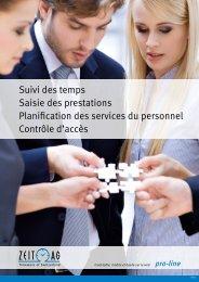 brochure pro-line - Zeit AG