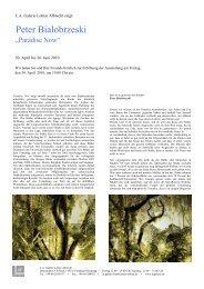 Presse Text Paradise Now - L.A. Galerie – Lothar Albrecht