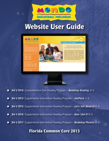 Website User Guide