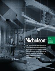 Nicholson File & Saw Catalog - EIS