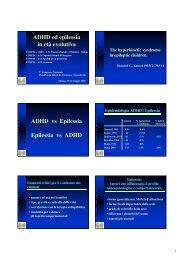 ADHD ed epilessia in età evolutiva - Aidai
