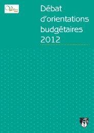 Débat d'orientations budgétaires 2012 - MAIRIE DE VILLERS LES ...