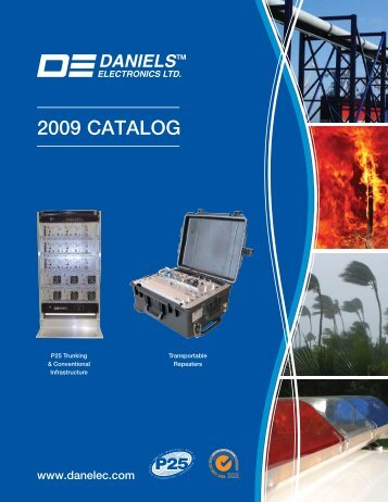 2009 CATALOG - Daniels Electronics
