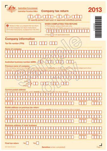 Tax return date in Australia