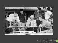 Frank Lloyd Wright (1867 - 1959)
