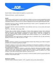 Rychlá kvalitativní detekce lidského hemoglobinu ve ... - Medial