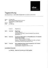 Programm und Anmeldung