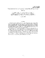 Requirements for the Sequential Access Model Data ... - Fermilab