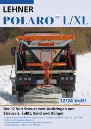 LEHNER Der 12 Volt Streuer zum Ausbringen ... - Lehner Agrar GmbH
