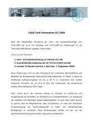 LGAD-Tarif-Information 01/2009