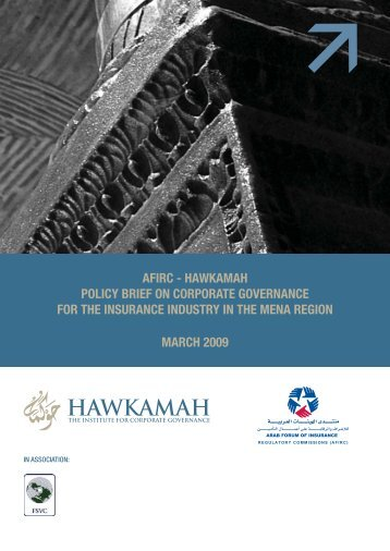 afirc - Hawkamah, the Institute for Corporate Governance