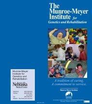 The Munroe-Meyer Institute for Genetics and Rehabilitation - UNMC