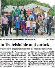 Berichte - FFW Pretzabruck e.V.