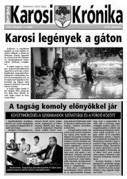 2013. június 20-i szám - Zalakaros