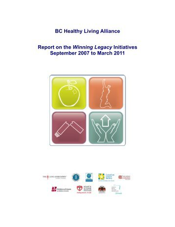 BCHLA Report on Winning Legacy Initiatives - BC Healthy Living ...