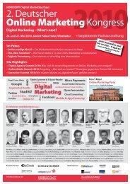 2. Deutscher Online Marketing Kongress