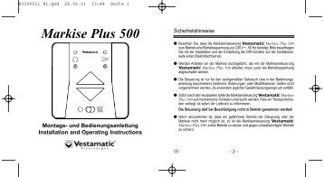 Markise Plus 500