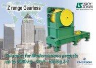 Z range: External Rotor Gearless Motors - Leroy Somer