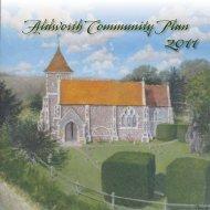 Aldworth Community Plan - North Wessex Downs Area of ...