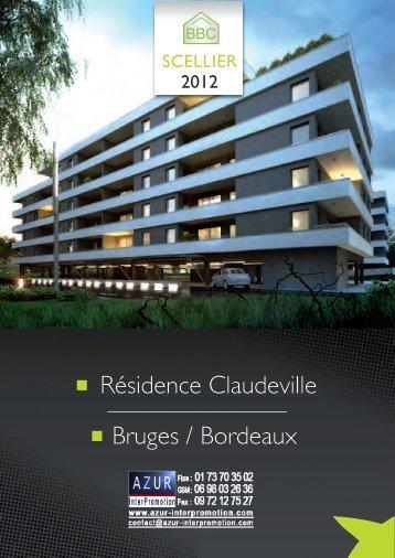 33 Bordeaux, Bruges - Claudeville - Azur InterPromotion