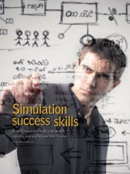 Simulation success skills - Institute of Industrial Engineers