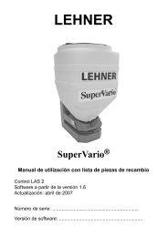 6 Apéndice - Lehner Agrar GmbH