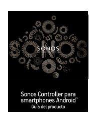 Sonos Controller para smartphones Android - Almando