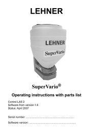 6 Appendix - Lehner Agrar GmbH