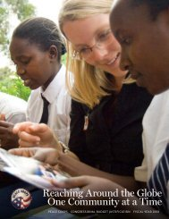 FY 2008 - Peace Corps