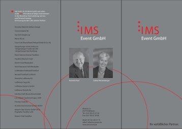 IMS IMS - IMS Event GmbH