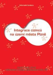 Integrace cizinců na území města Plzně – informační brožura