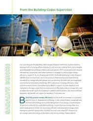 S AR ALY N B U N CH - Building Energy Codes