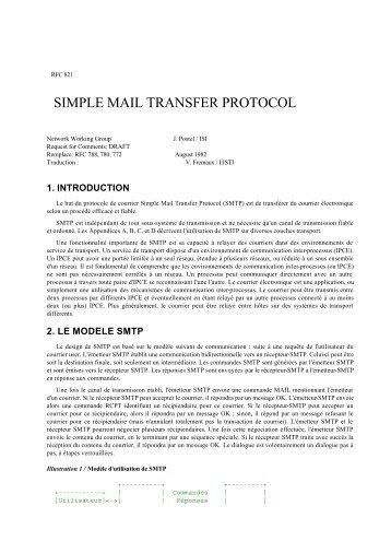 Option DHCP pour le protocole d'authentification d'un ... - RFCDon't wait! Try Yumpu.                                                                                            Start using Yumpu now!