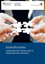 Studierende über Praktika oder als Werkstudierende rekrutieren