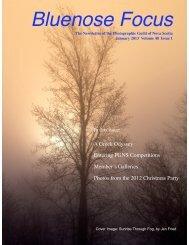 January 2013 - Photographic Guild of Nova Scotia