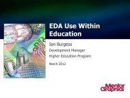 View Mentor Graphics' PowerPoint Presentation - ecedha